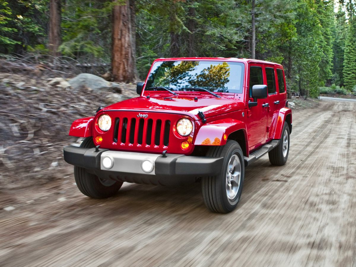 Pre Owned 2014 Jeep Wrangler Unlimited Rubicon
