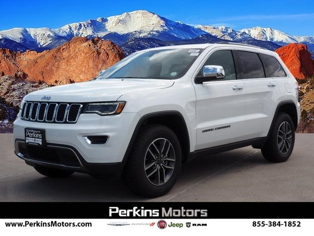 New 2019 JEEP Grand Cherokee Limited 4x4 Sport Utility