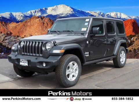 New 2019 JEEP Wrangler Unlimited Sport S 4x4 Sport Utility